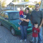 April and James Francom sell a broken down car for cash
