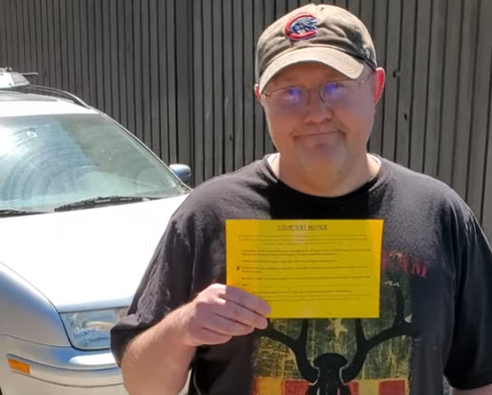 Big Tane Helps Customer Solve City Notice Problem for Older Vehicle - Car Sold For Cash in Salt Lake City, UT